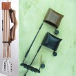 #463 Great Northern Black Widow Side Mount Quiver