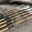 #501 BLEM Gold Tip Graphite Traditional Wood Grain Arrows