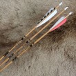 #502 Gold Tip Traditionals Graphite Wood Grain Arrows/Shafts