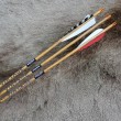 #505 NEW Black Eagle Vintage Wood Grain Arrows/Shafts