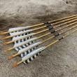 #518 Black Eagle Vintage Wood Grain Arrows/Shafts
