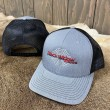 #800 Black Widow Summer Cap-Gray & Black