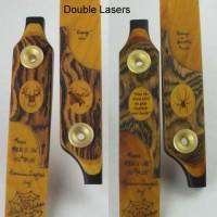 Double Laser- Bocote/Osage