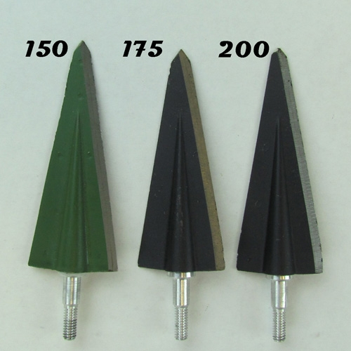 #572 Grizzly Screw In Broadheads