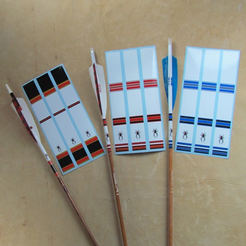 #626 BW Signature Arrow Wraps 9""