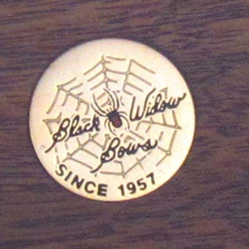 #836 Black Widow Medallion