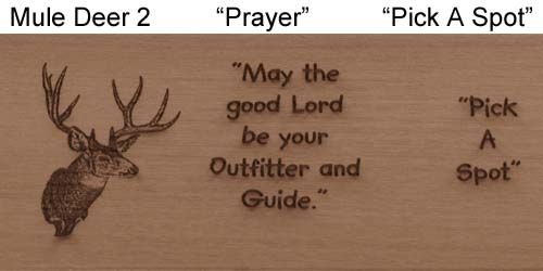 "Laser-""Muley, Prayer"""